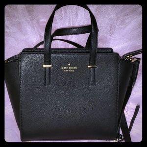 ♤Kate Spade♤ Black/gold Bag/Tote/Purse ♤N₩OT♤